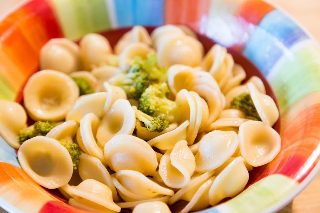 Orecchiette con broccoli e colatura di alici